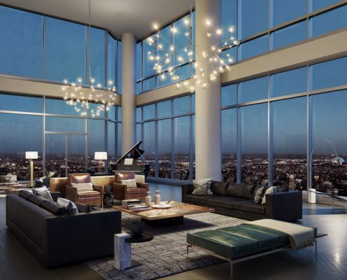 Billionaire residences at Central Park Tower