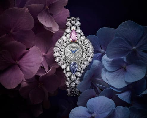 "CHOPARD – ""Magari"" jewellery watch A work of art from the Red Carpet Collection"