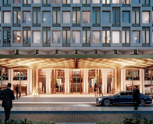 Rosewood Hotels & Resorts Debuts New Details and Official Name of Mayfair Property at 30 Grosvenor Square: The Chancery Rosewood