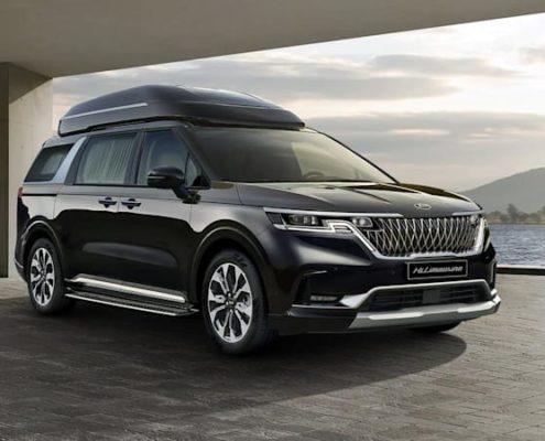 2022 The Kia Carnival High Limousine Luxury Minivan